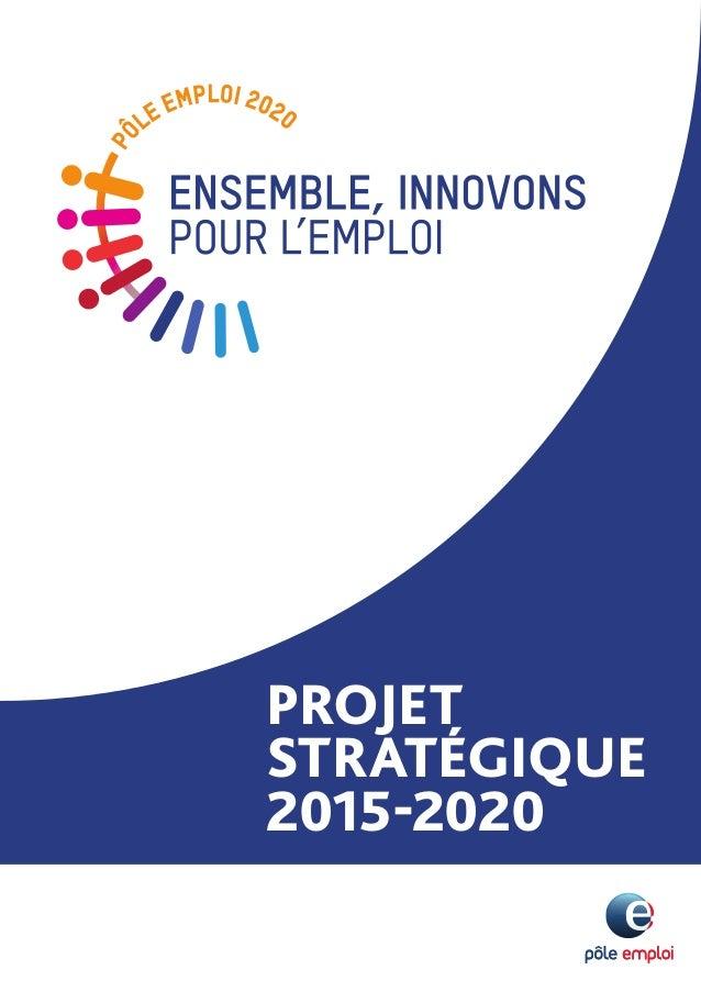 PROJET STRATÉGIQUE 2015-2020
