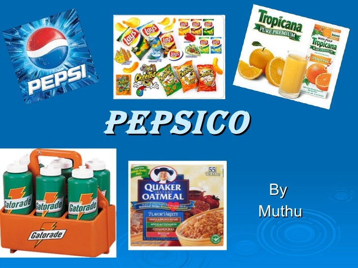 PEPSICO By  Muthu