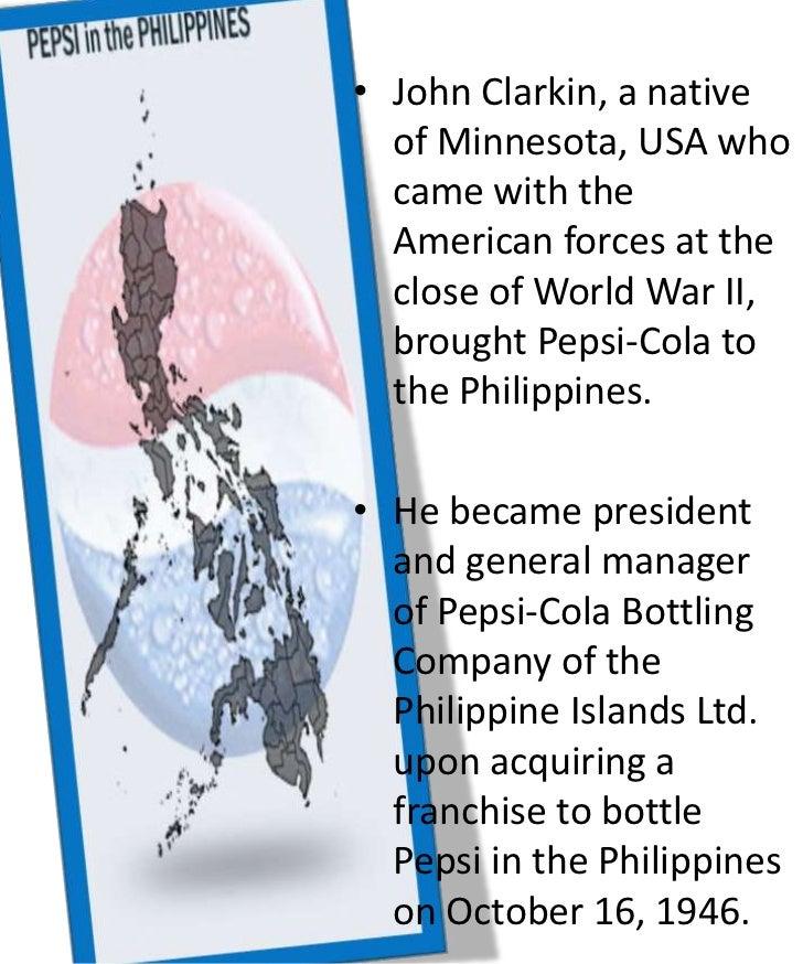 pepsi cola products philippines inc essay Stock analysis for pepsi-cola products philippines inc (pip:philippines) including stock price, stock chart, company news, key statistics, fundamentals and company.
