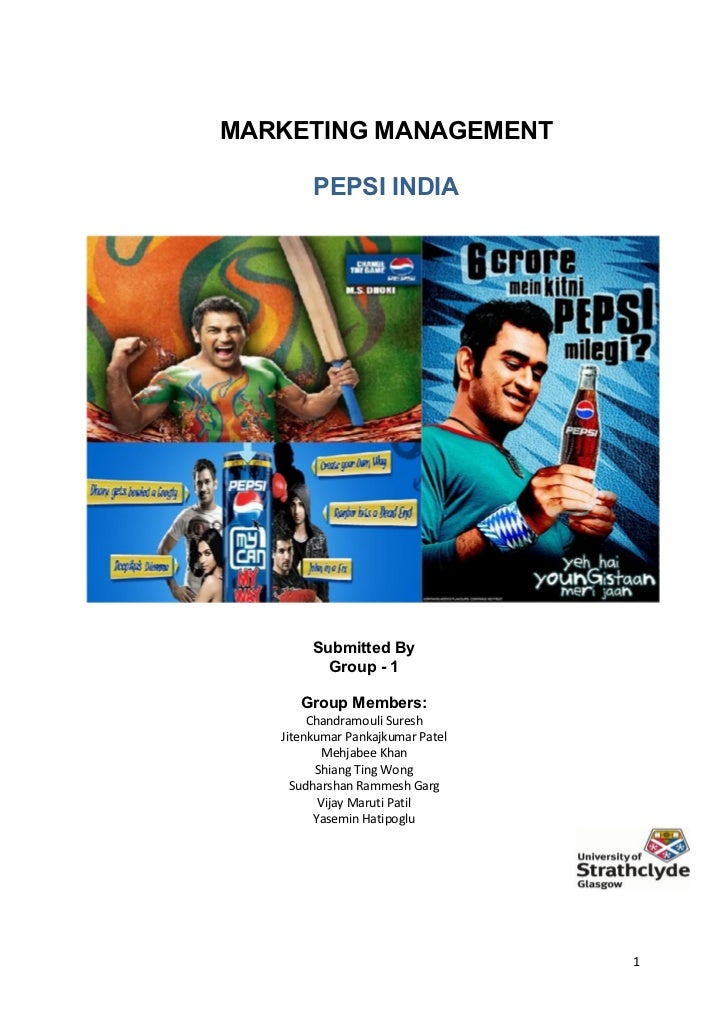 maketing strategy pepsi in china essay