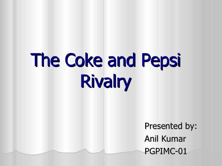 objectives of pepsi and coke in 21st century