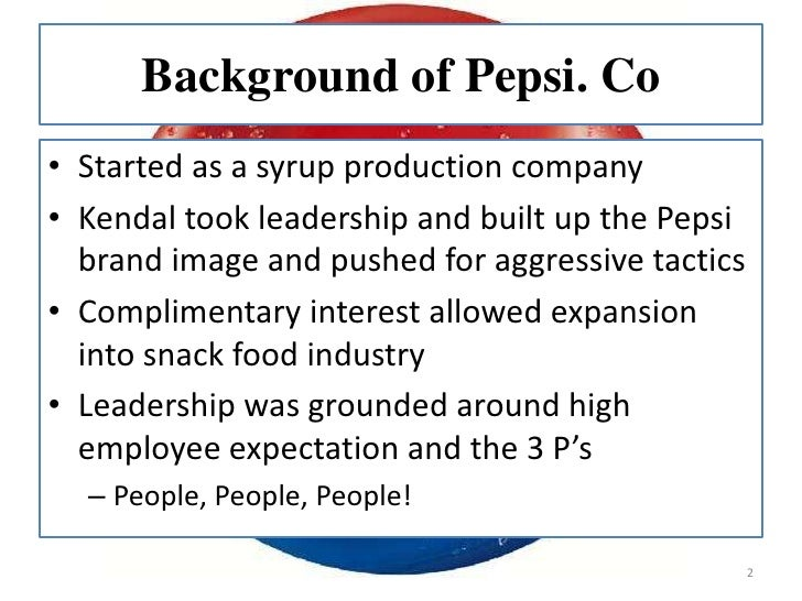pepsi organization industry overview essay Pepsi essay examples  an analysis of pepsi and assessment of its performance  an analysis of the importance of strategic planning in organization theory and .