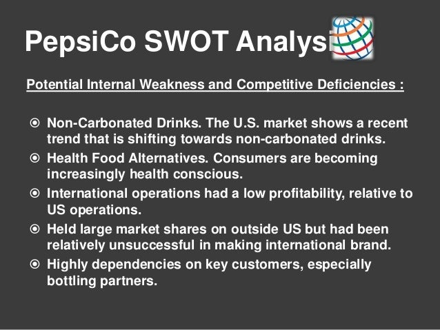 marketing pepsi case swot analysis