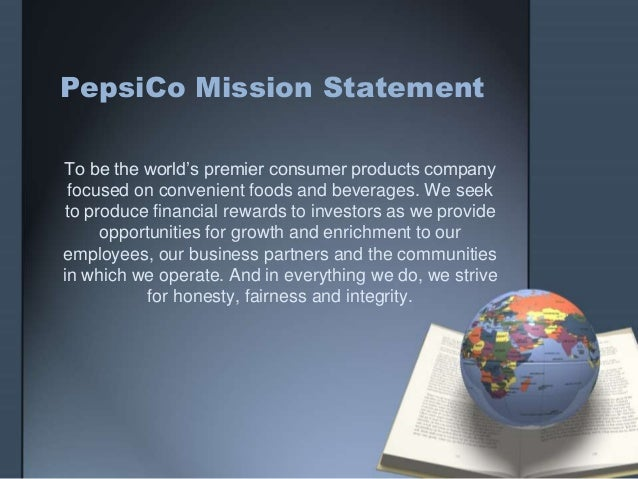 Pepsico's diversification strategy in 2017