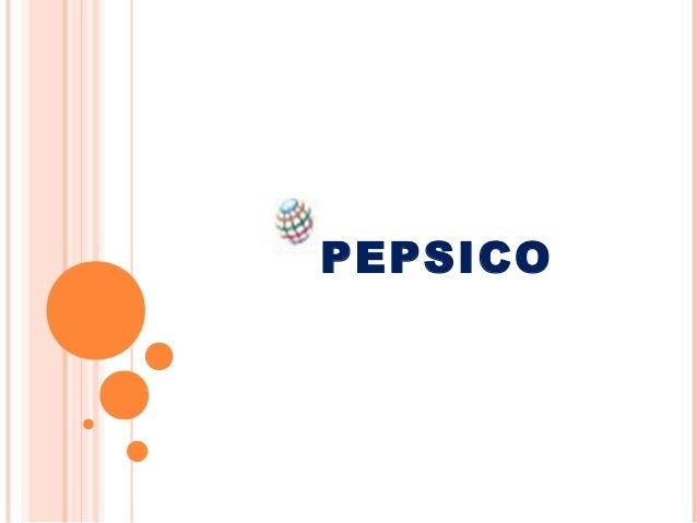 Pepsico ppt