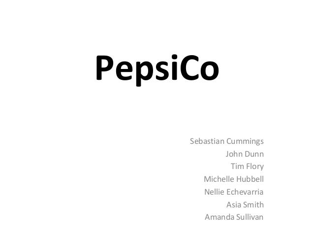 Pepsico diversification strategy in 2008 case