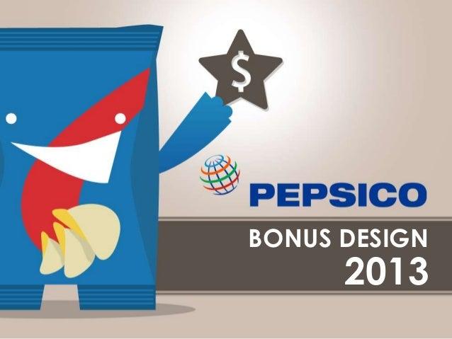 PepsiCo Bônus Design