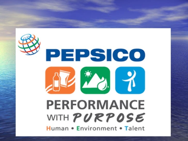INTRODUCTION OF ACOMPANY• PepsiCo is a world leader in convenient foods and  beverages, with revenues of about $27 billion...
