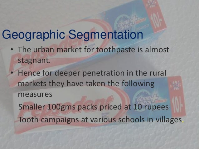 segmentation targeting and positioning of colgate palmolive Course outline rsm251h1s lec 0101 segmentation, targeting, positioning i segmentation, targeting, positioning ii colgate-palmolive: the precision toothbrush 11.