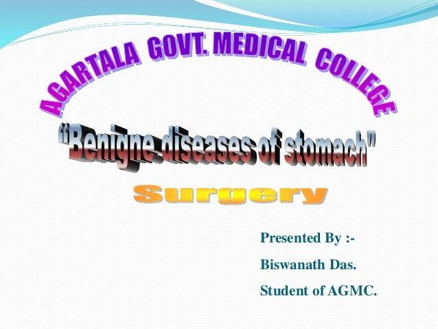 Benigne Diseases Of Stomach...