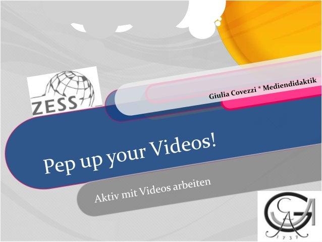 Denke bitte nach...Warum suchst Du nach Videos für Deinen Unterricht?Was machst Du mit den Videos? (Aufgabenkreieren, usw....