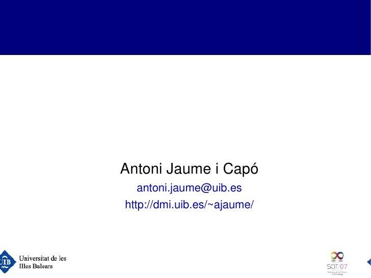 Perquètenimdosulls?      (ocomveureimatges3Denuna          pantallad'ordinador)             AntoniJaumeiCap...