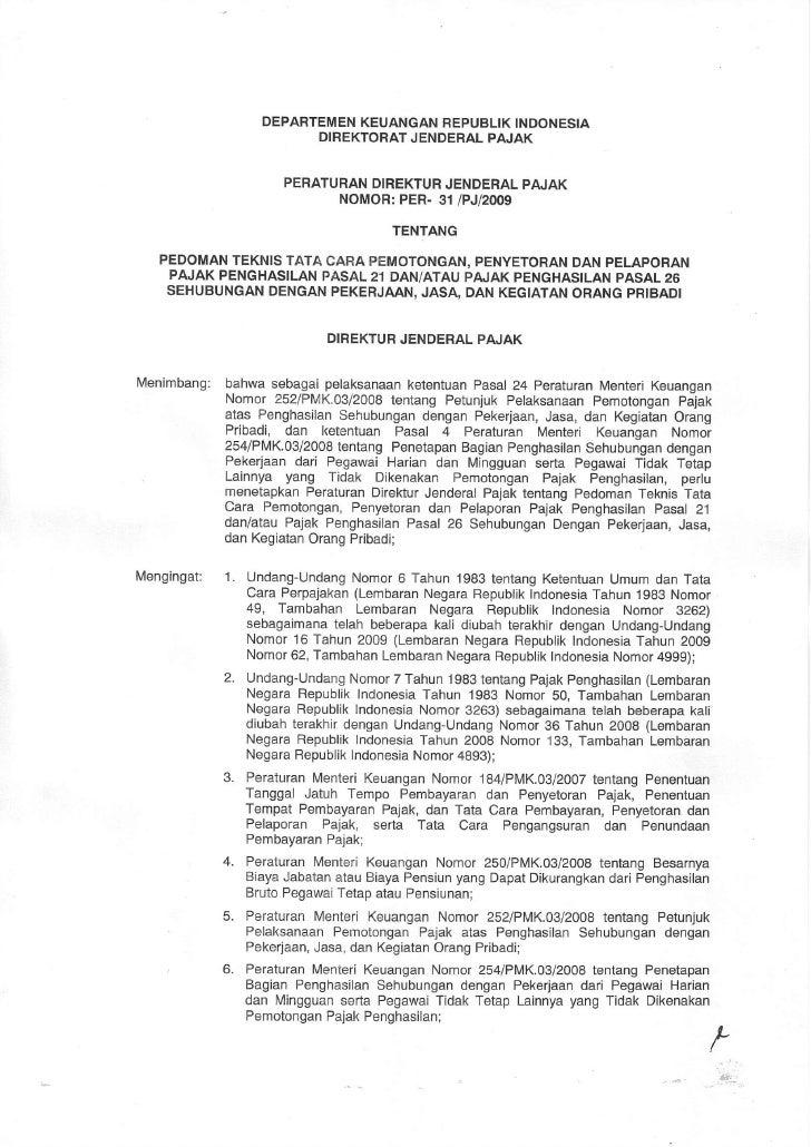 DEPARTEMEN                           KEUANGANREPUBLIK                                          INDONESIA                  ...
