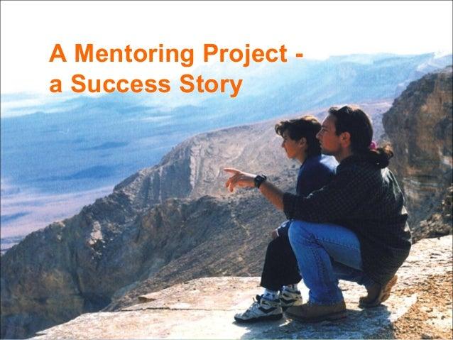 Perach, a mentoring project, a success story. Amos Carmeli. June 2013.