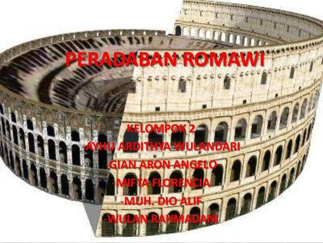 Peradaban Romawi
