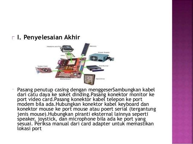 Port Kabel Telepon Pasang Konektor Kabel Telepon