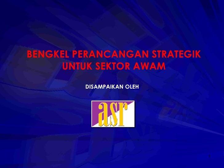 Perancangan Strategik Mds
