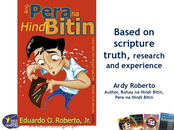 Based on                        scripture                      truth, research                      and experience        ...