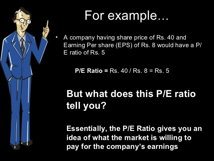 What is a P/E ratio?
