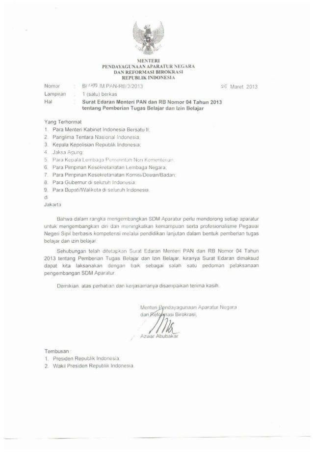 Peraturan Men PAN No 4 Th 2013