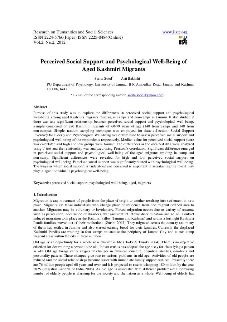Research on Humanities and Social Sciences                                              www.iiste.orgISSN 2224-5766(Paper)...