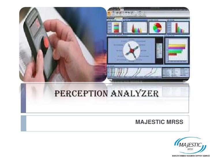 MMRSS Perception analyzer
