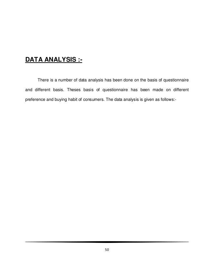 consumer behaviour thesis