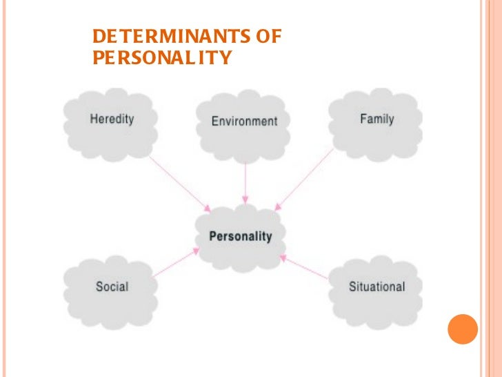 Biological determinants of Personality Development