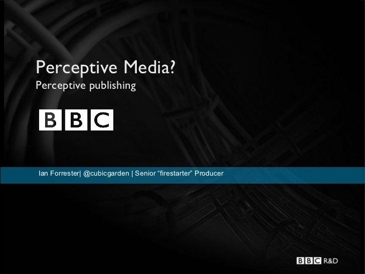 Perceptive Publishing?