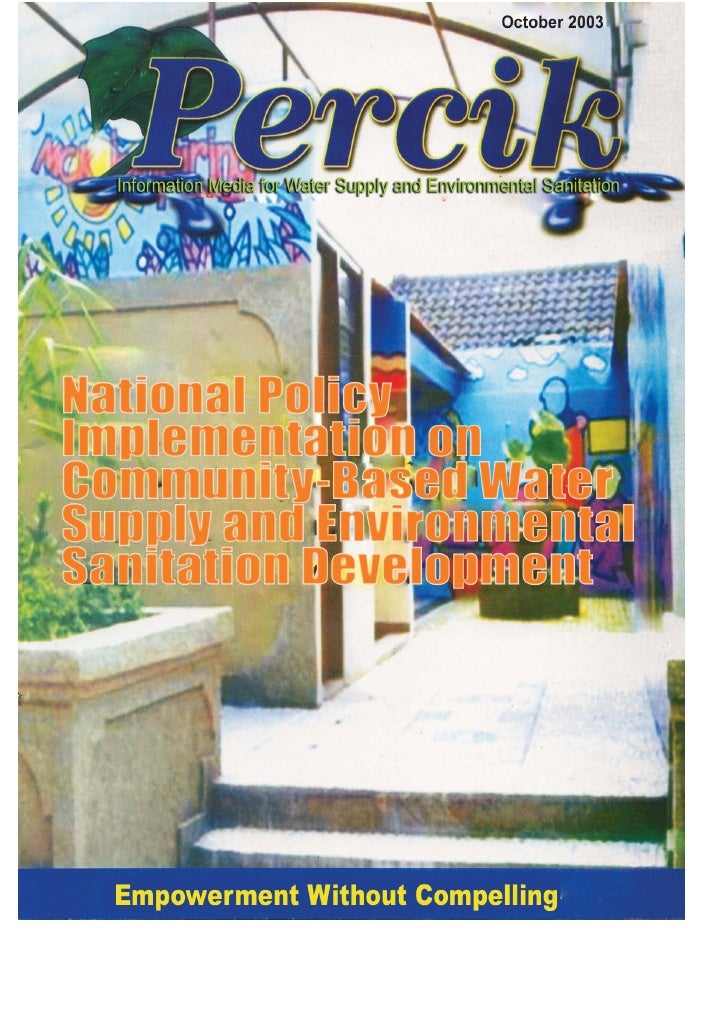 Indonesia Water Supply and Sanitation Magazine. 'PERCIK' 2nd Edition October 2003