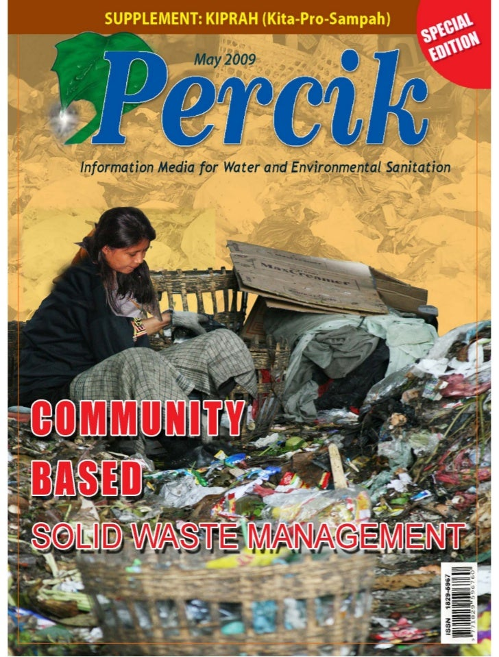 Community-Based Solid Waste Management. Indonesia Water and Sanitation magazine. May 2009