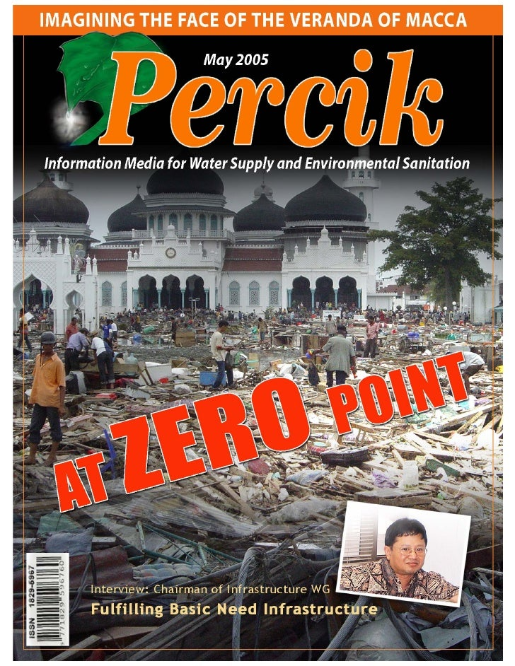 Indonesia Water Supply and Sanitation Magazine 'PERCIK' vol. 8 May 2005