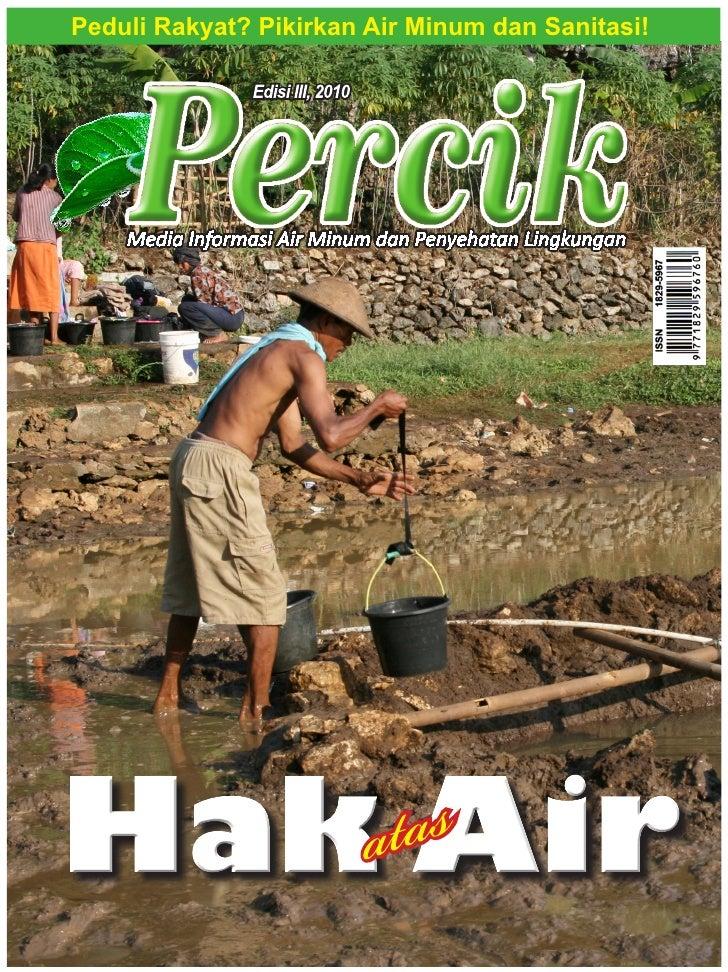 Percik Edisi III Tahun 2010 Bagian Pertama