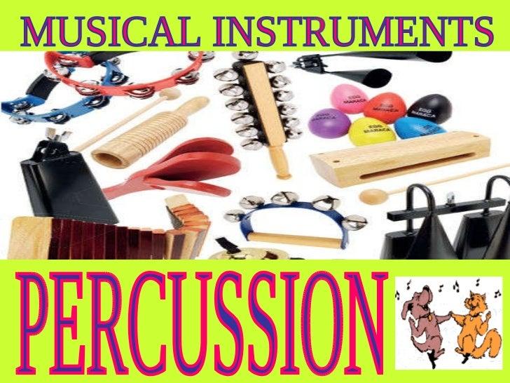 Percussion materials