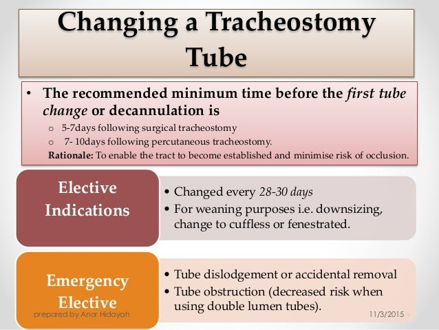 What Is a Tracheostomy recommend