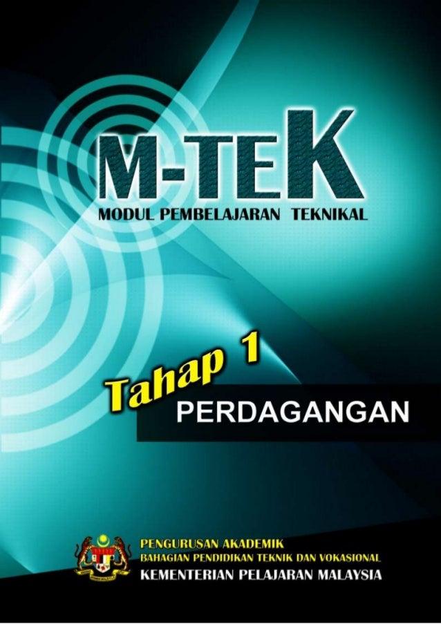PA_BPTV_KPM M-TEK_PERDAGANGAN TOPIK 1: