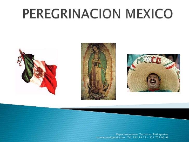 Peregrinacion mexico