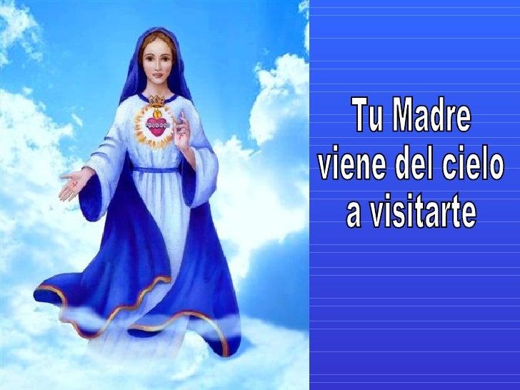 Mis queridos, queridos hijitos, Yo he venido,  Su Madre Celestial está aquí. Yo he venido a darles paz y a darles la graci...