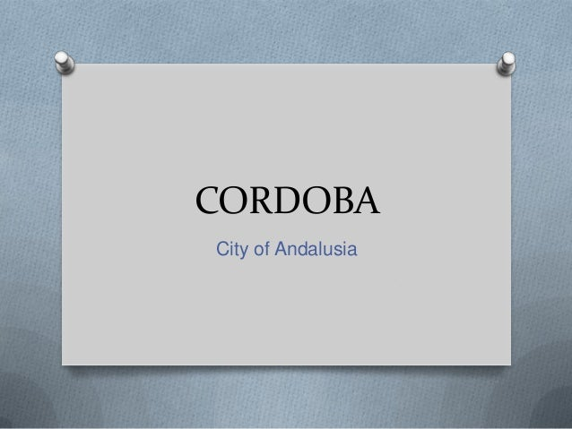 CORDOBACity of Andalusia