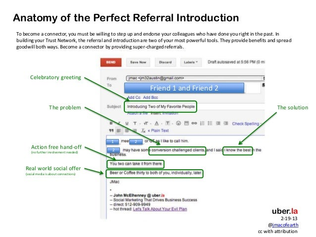 Perfect referral-email-mcelhenney