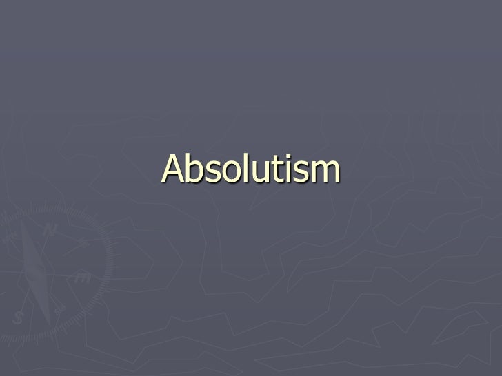 Absolutism PowerPoint
