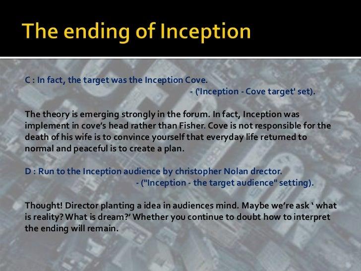 "A dream Movie "" Inception"" Essay Sample"