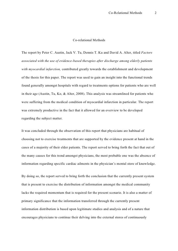 Apa Format Essay Example Paper