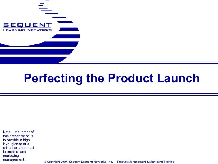 New product launch presentation template