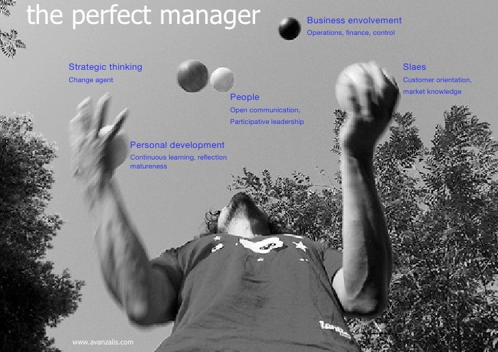 The pefect manager. Avanzalis
