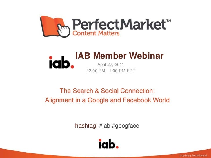 The Search and Social Connection: Marketing Alignment in a Google and Facebook World