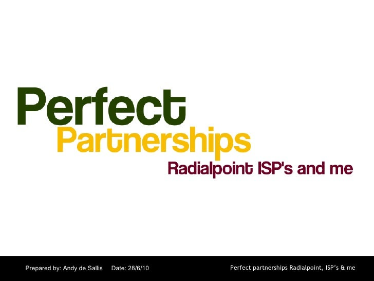Perfect partnerships master tc