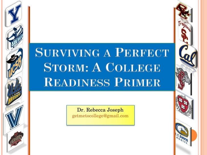 Dr. Rebecca Joseph [email_address]