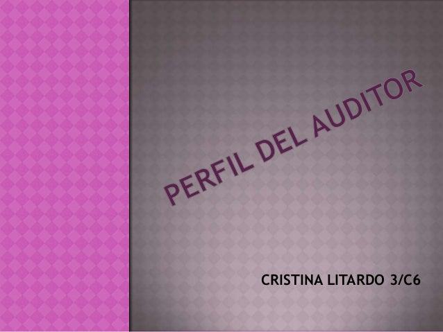 CRISTINA LITARDO 3/C6