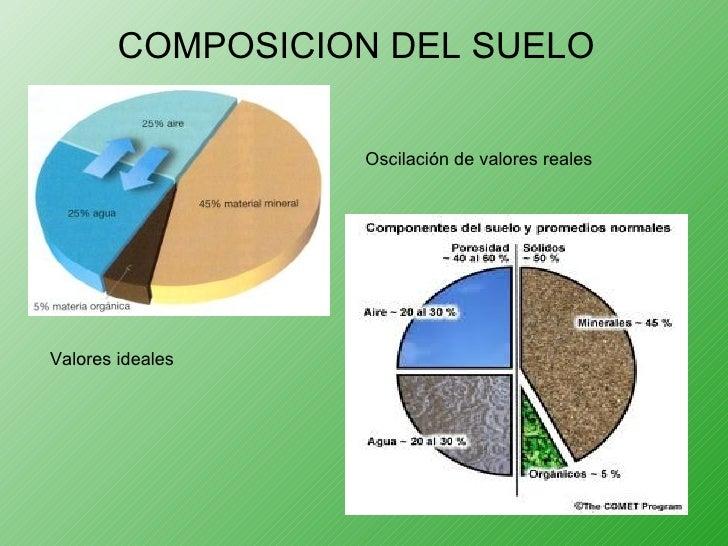 perfil del suelo modificado
